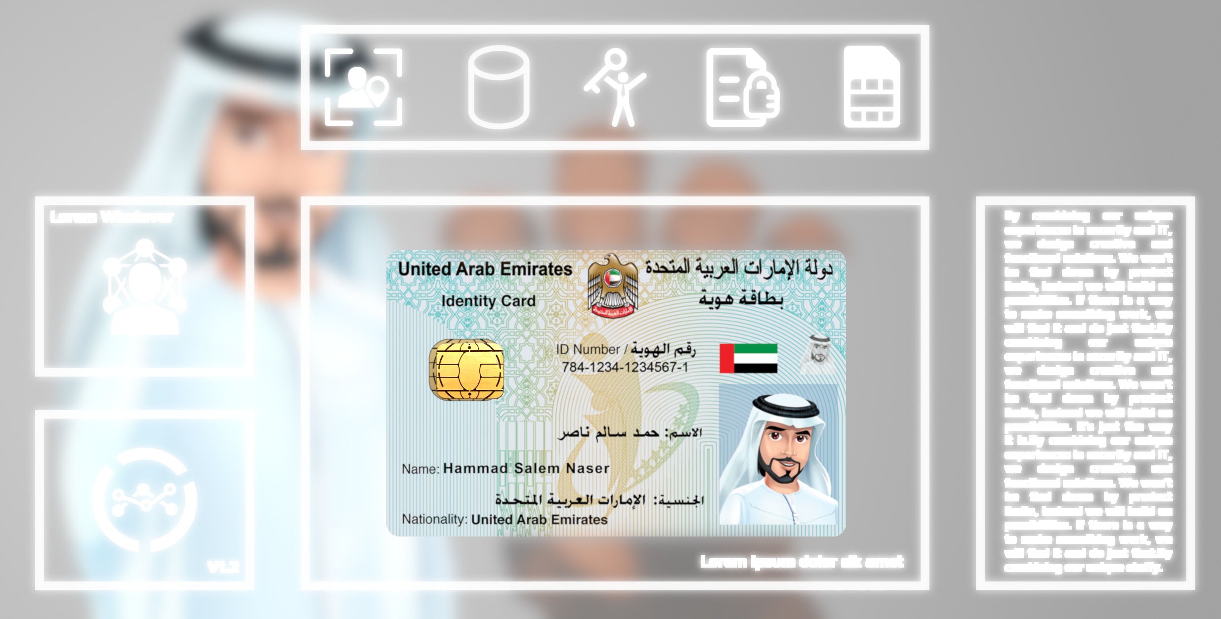 United Arab Emirates EID Plugin for C•CURE5 © V5.5 and above